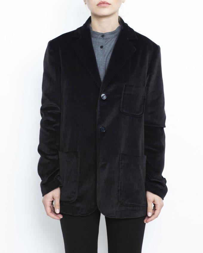 Velvet Herringbone Jacket - 001782742205 - image 1