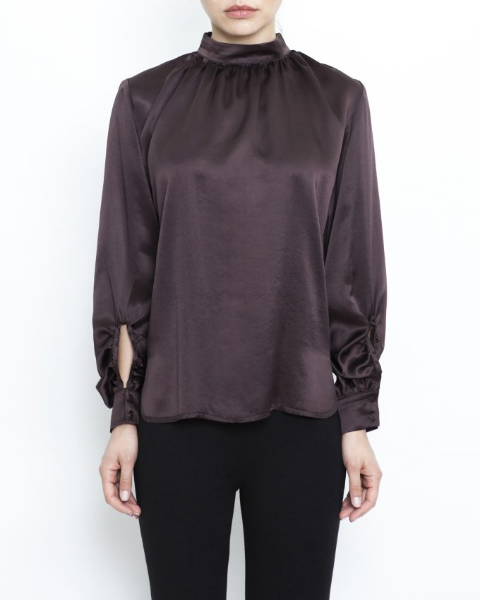 Silk Satin Top - 007011547215 - image 1