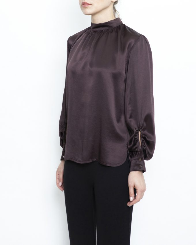 Silk Satin Top - 007011547215 - image 3