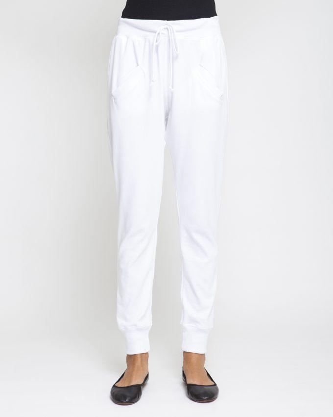 Narrow Cotton Pants - 001073026303 - image 1