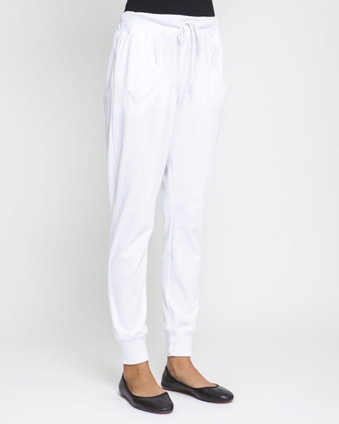 Narrow Cotton Pants - 001073026303 - image 3