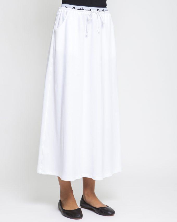 Cotton Skirt - 001074134203 - image 3