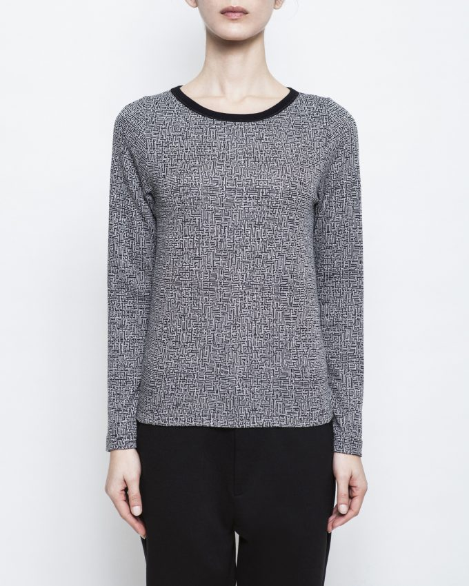 Long-sleeved Top - 006431035193 - image 1