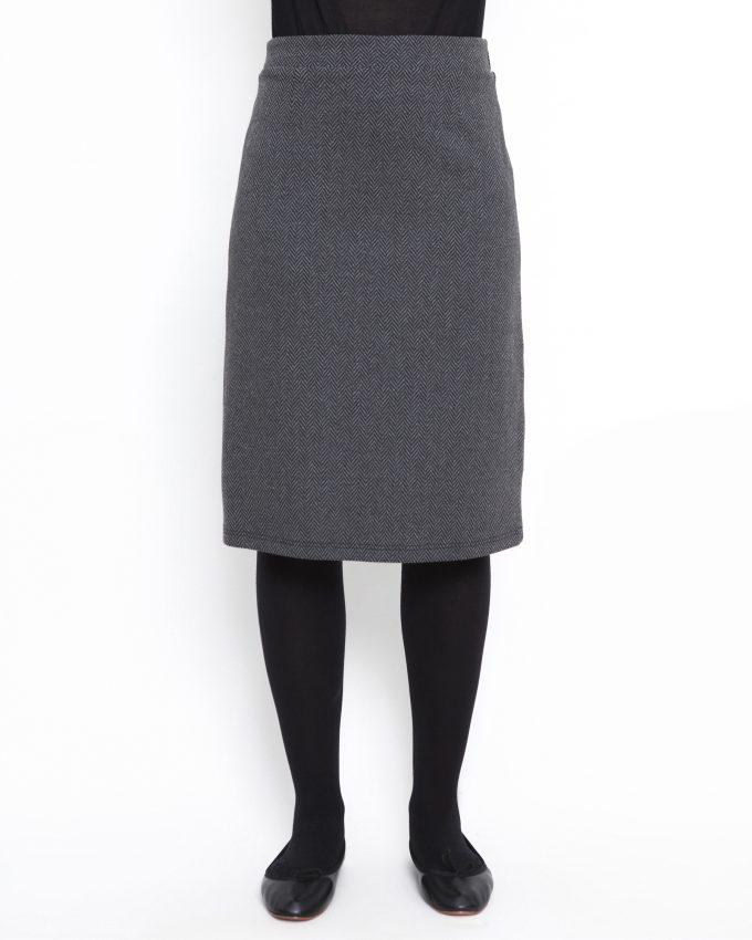 Herringbone skirt - 006474145305 - image 1