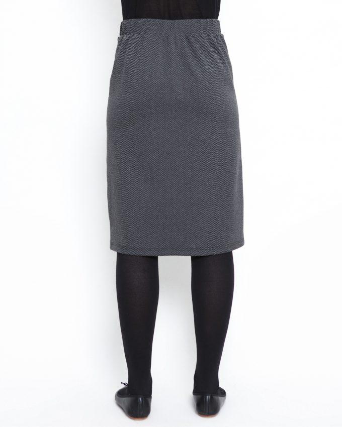 Herringbone skirt - 006474145305 - image 2