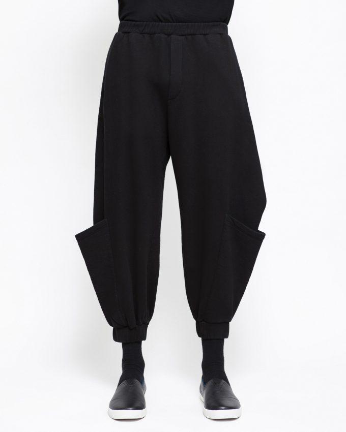 Cotton Pants - 001423043001m - image 1