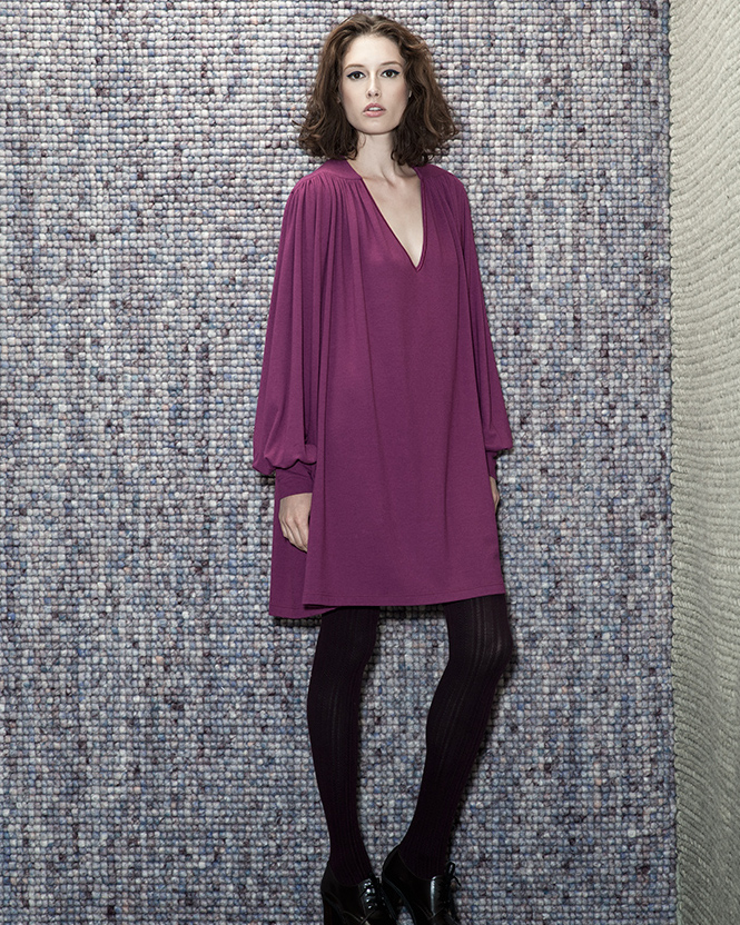 Wool/Viscose Dress - 006375631021 - image 1