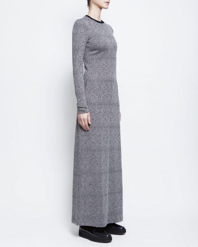 Jacquard Dress - 006475784293 - image 3