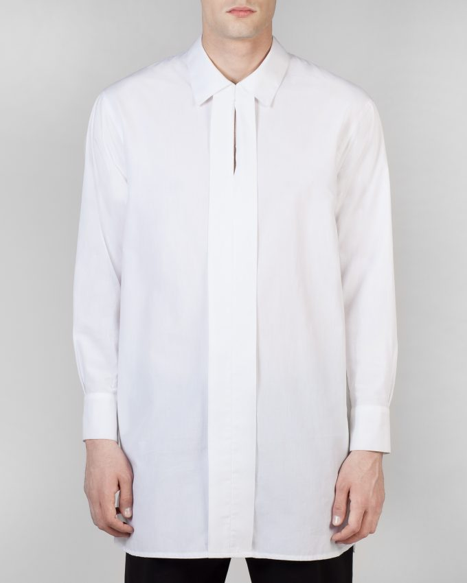 Cotton Shirt - 001092520000m - image 1