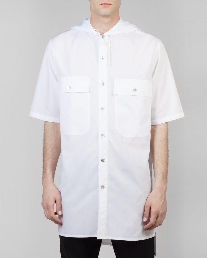 Cotton Shirt - 001092524000m - image 1